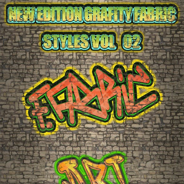 New Edition Grafity Fabric Styles Vol 2