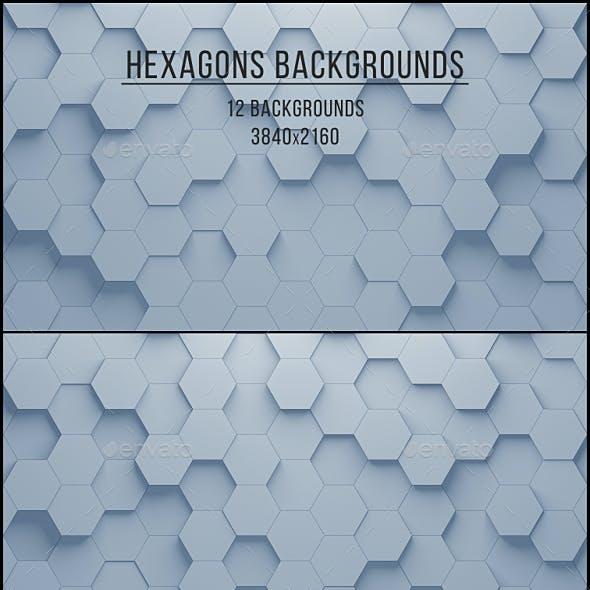 Hexagons Backgrounds