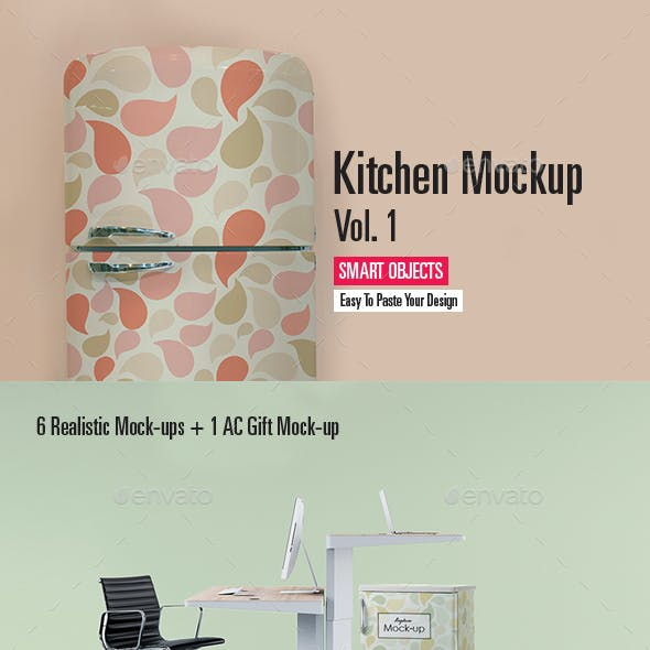 Kitchen Mock-up Vol.1