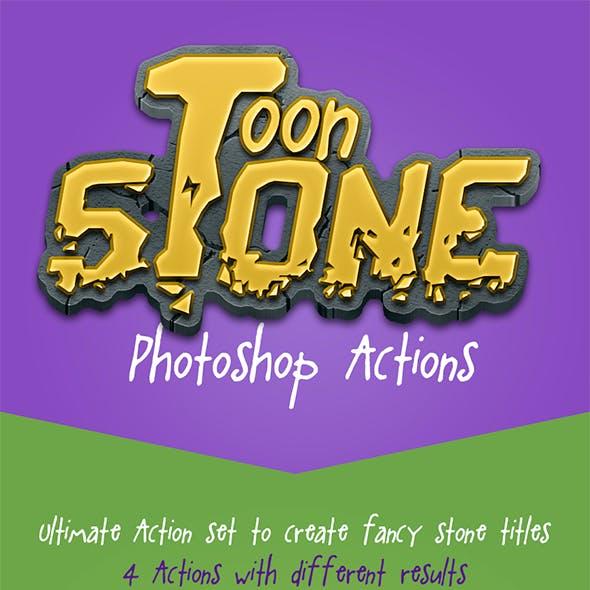 Toon Stone Actions
