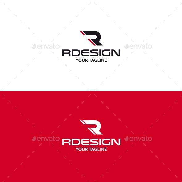 Rdesign R Letter Logo V2