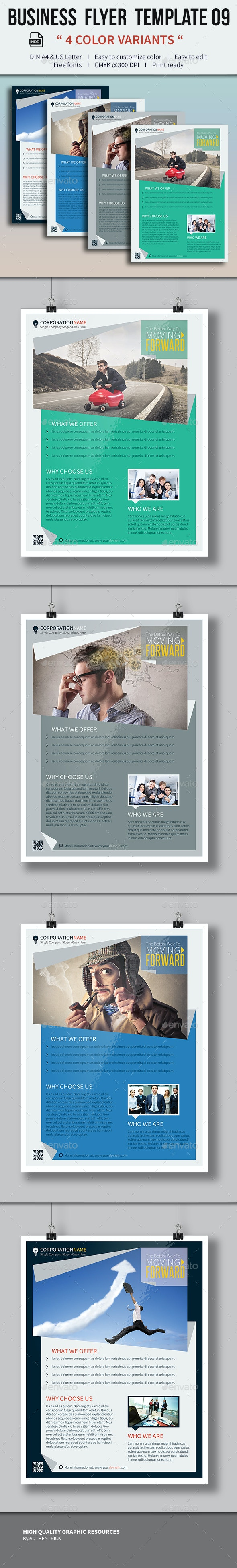 Business Flyer Template 09 - Corporate Flyers