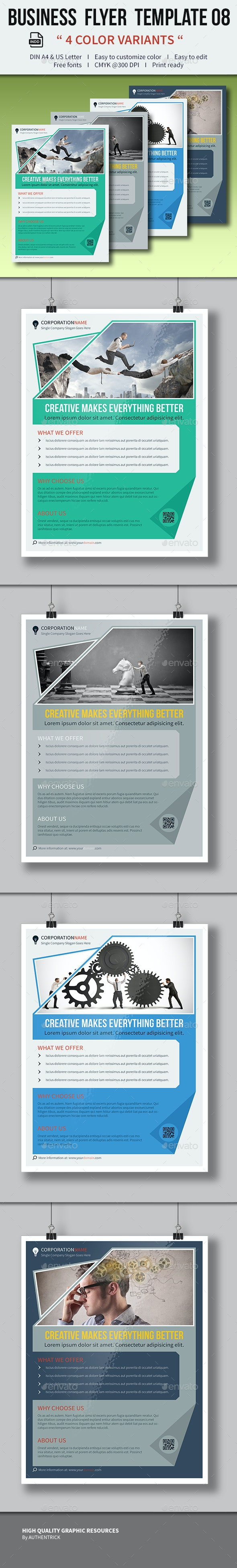 Business Flyer Template 08 - Corporate Flyers