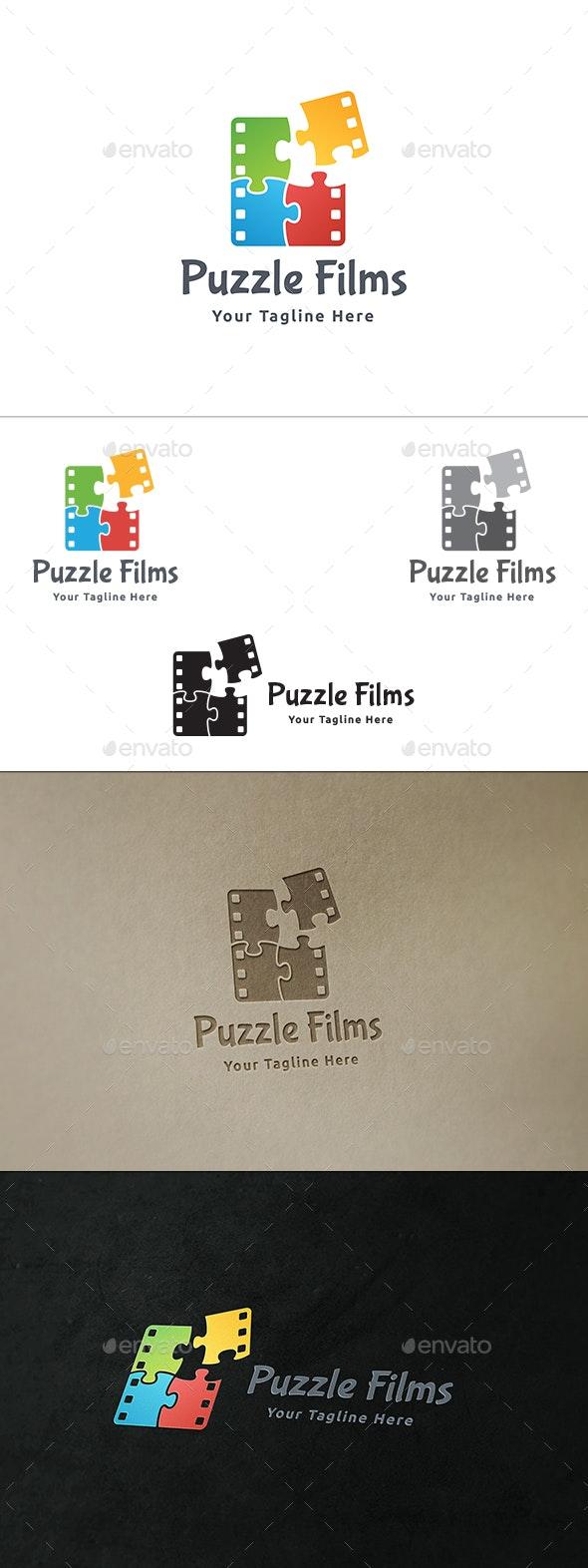 Puzzle Films  - Symbols Logo Templates