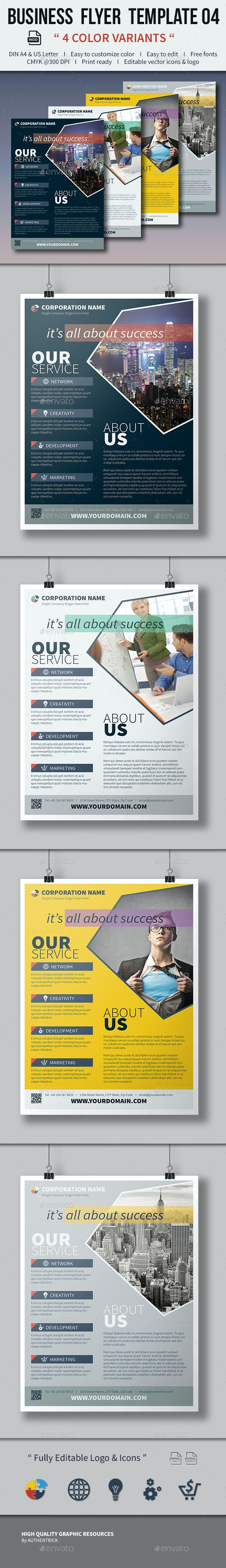 Business Flyer Template 04 - Corporate Flyers