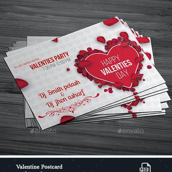 Valentine Post Card