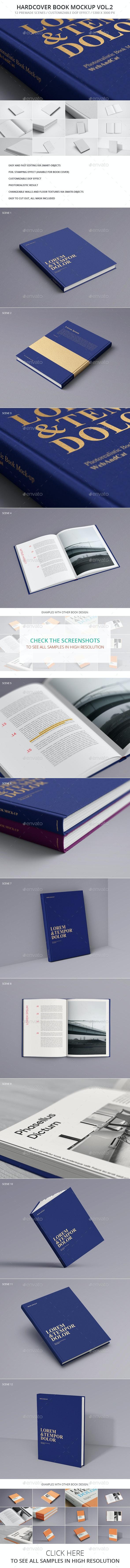 Book Mockup Vol.2 - Books Print