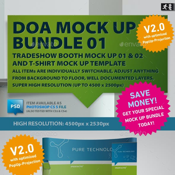 DOA Mock Up Bundle 01