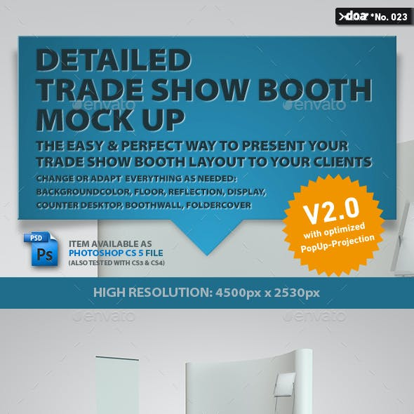 Trade Show Boot Mock-up