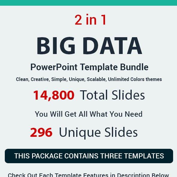 Big Data 2 in 1 PowerPoint Template Bundle
