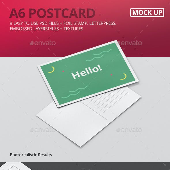 Postcard Graphics, Designs & Templates from GraphicRiver