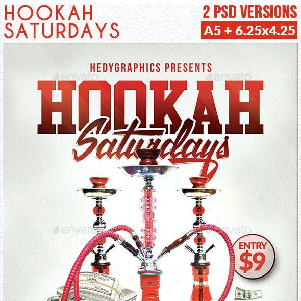 Hookah Saturdays - Flyer Template