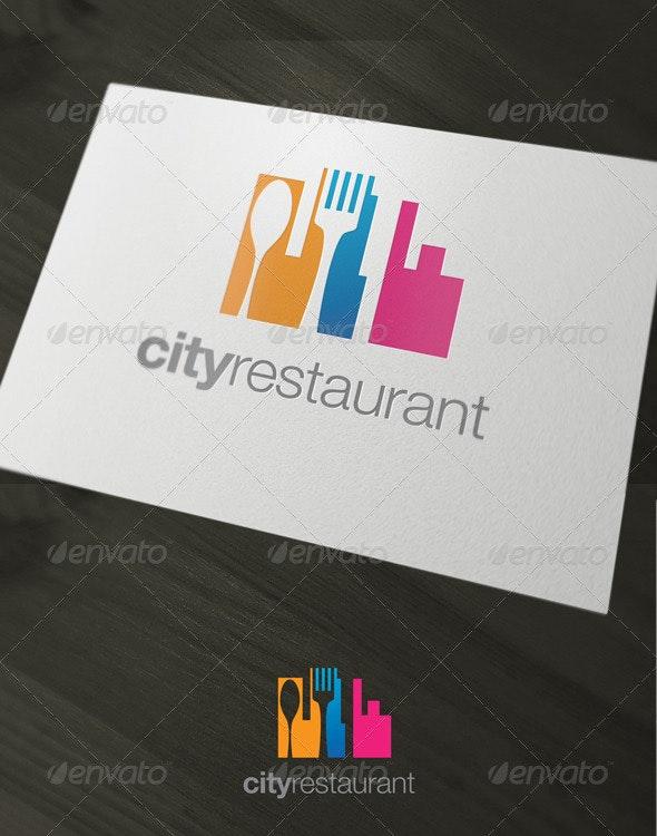 Cityrestaurant - Buildings Logo Templates