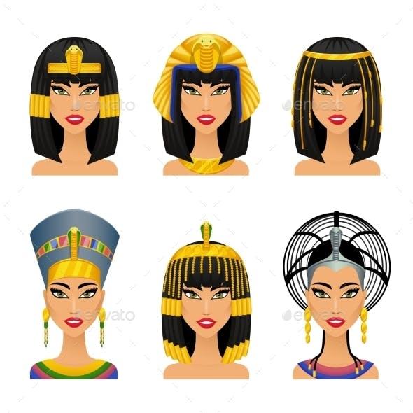 Cleopatra Egyptian Queen