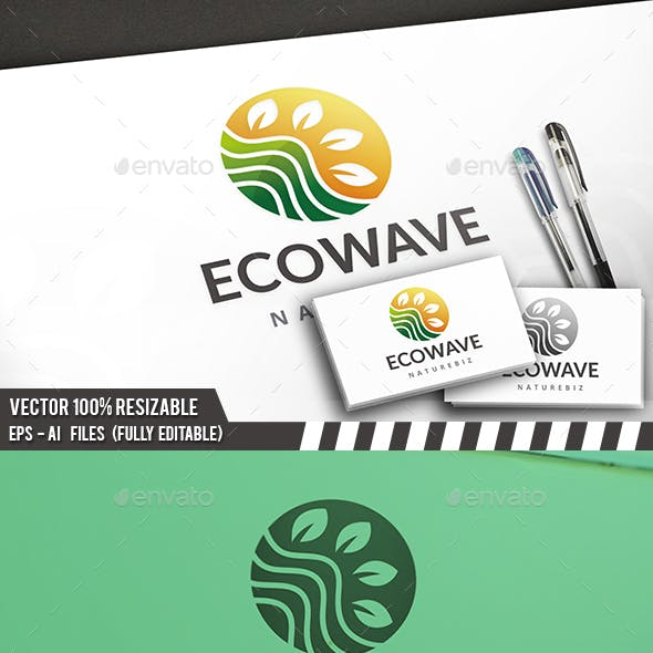 Eco Wave Logo
