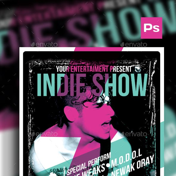Indie Show Poster/Flyer