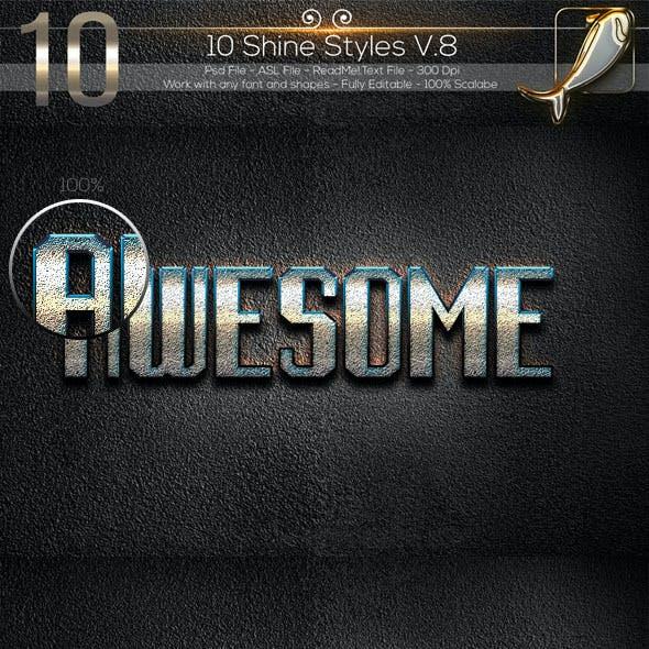10 Shine Styles V.8WJ