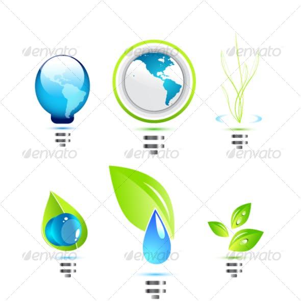 Environmental power icons