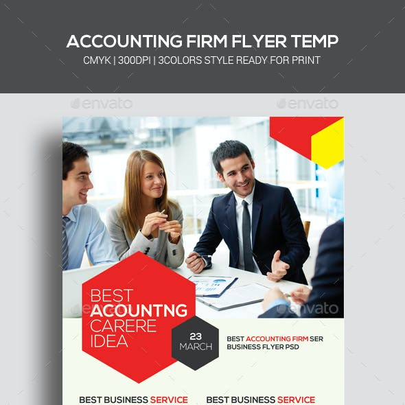 Accounting and Finance Flyers Bundle