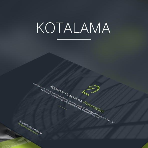 Kotalama Keynote Template