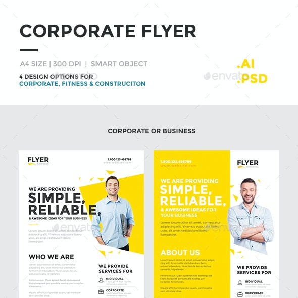 Corporate Flyer Multipurpose