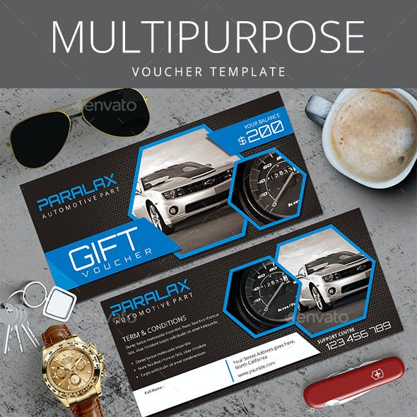 Multi Purpose Gift Voucher