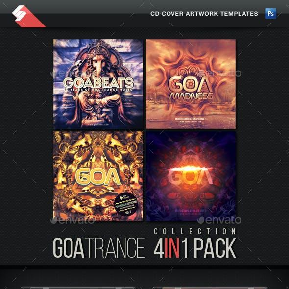 Goa Trance - CD Cover Templates Bundle