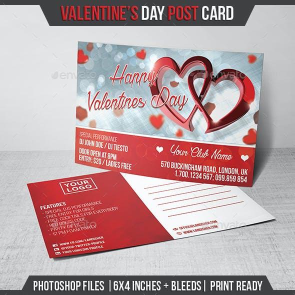 Valentines Day - Postcard