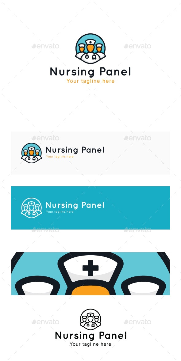 Nursing Panel - Medical Stock Logo Template - Humans Logo Templates
