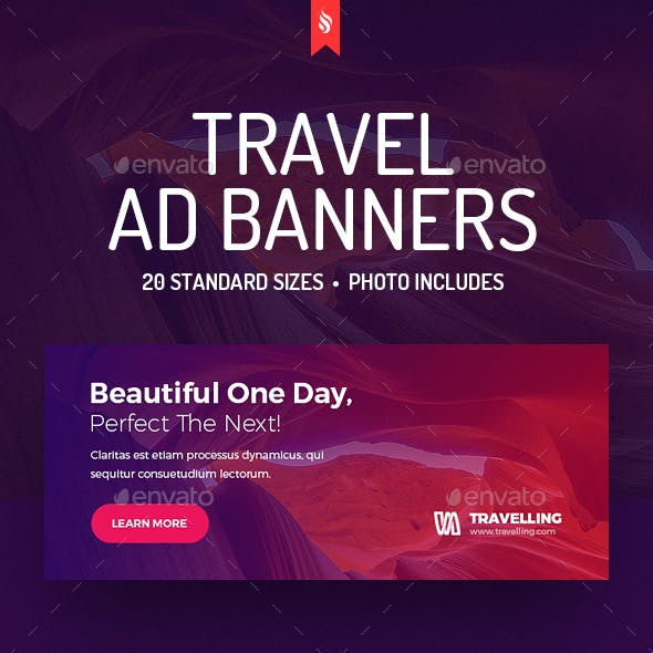 Travelling - Travel Ad Banners