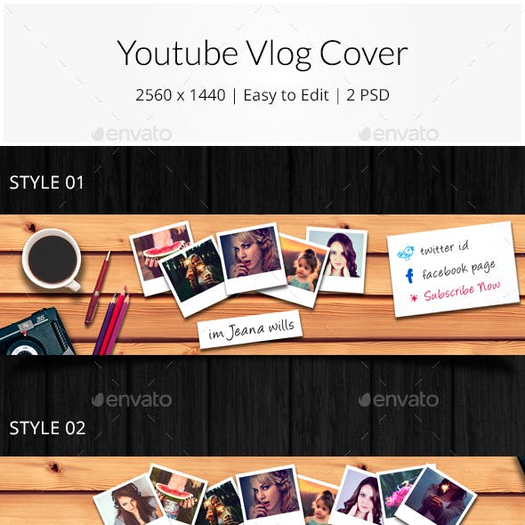 Youtube Vlog Cover