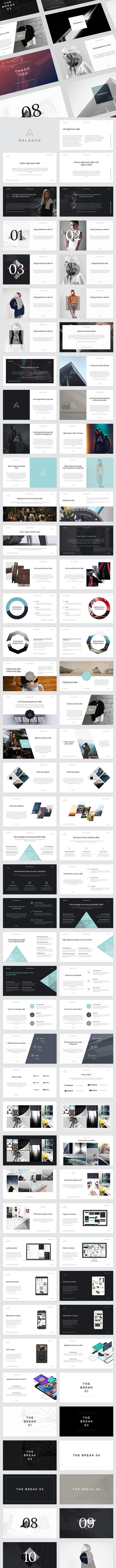 Balance PowerPoint Presentation - Creative PowerPoint Templates