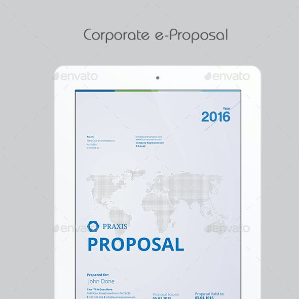 Corporate eProposal