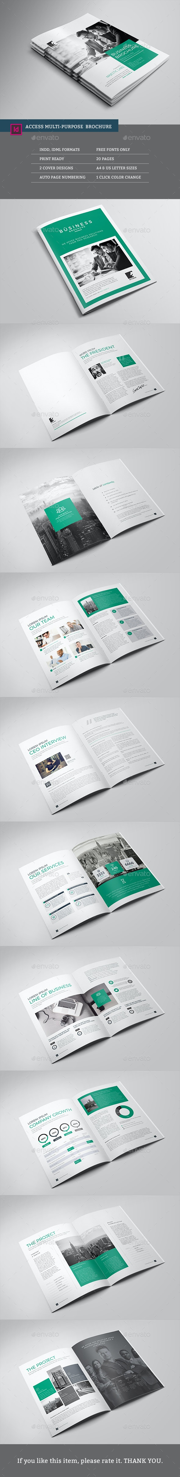 Access Multipurpose Brochure - Corporate Brochures