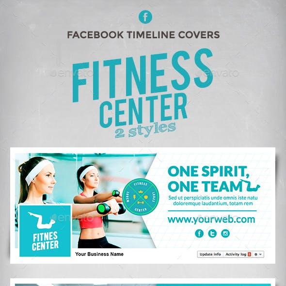 Facebook Timeline Cover - Fitness Center