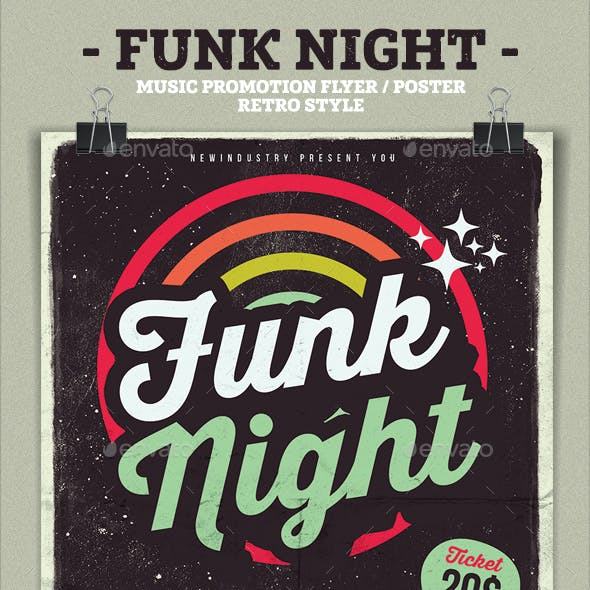 Funk Poster Flyer