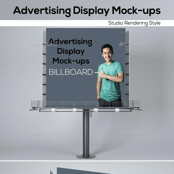 Advertising Display Mockups