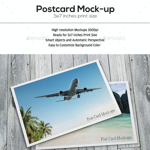 Postcard Mock-up