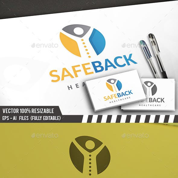 Safe Back Logo