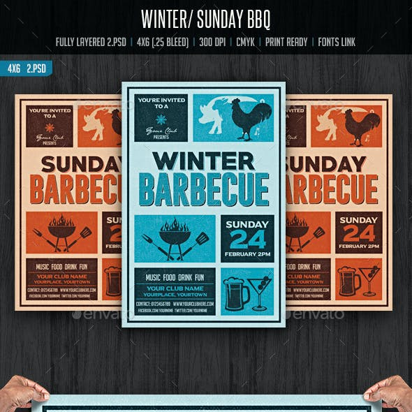 Winter/Sunday Barbecue