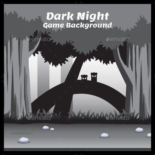 Dark Night Game Background