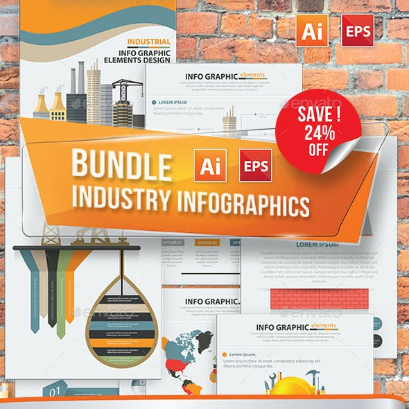 Bundle Industry Infographics Design