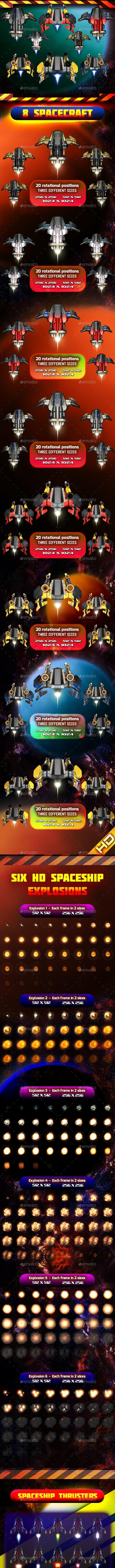 Spaceship pack 21