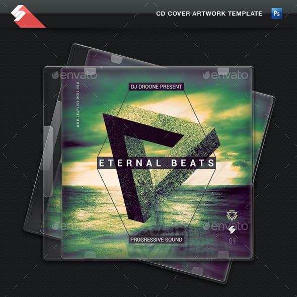 Eternal Beats - Progressive Sound CD Cover Template