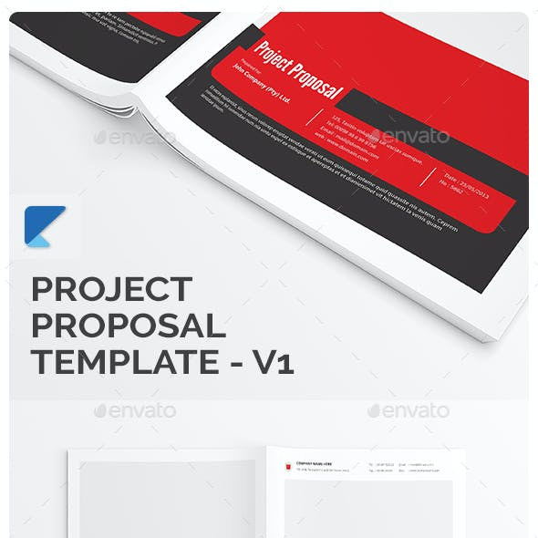 Project Proposal Template - V1 - Updated