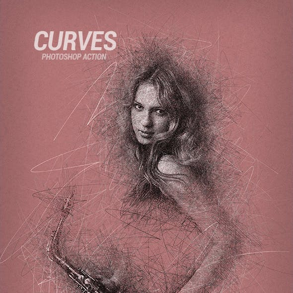 Curves - Photoshop Action