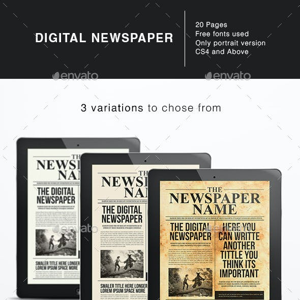 The Digital Newspaper Template