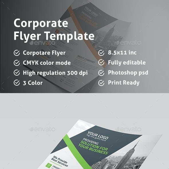 Mega Corporate Flyer