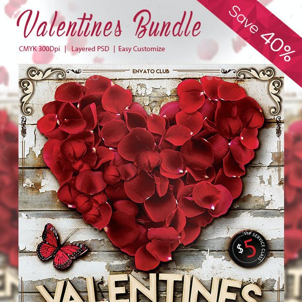 3 in 1 Valentines Flyer (Bundle)