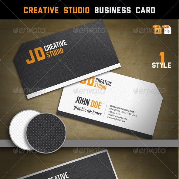 Creative Studio Business Card
